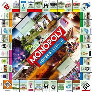Three taunton charities will get to feature on new town monopoly.