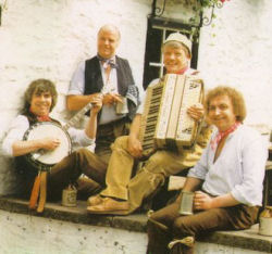 A 1990s photo of the Wurzels